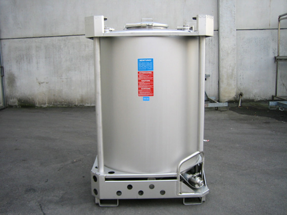 Stainless Steel Fluid Tank